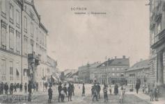 A Várkerület a Széchenyi tér felől az 1900-as évek elején