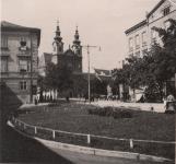A Várkerület egy részlete 1940-ben