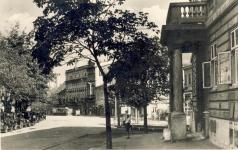 A Várkerület egy részlete az 1940-es években