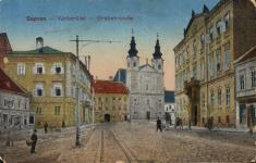A Várkerület és a Széchenyi tér találkozása egykor