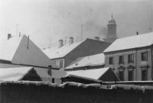 A Vasalóház helye 1970 körül