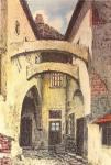A Rejpál-ház udvara