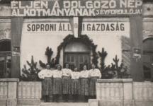 Az Alkotmány 3. évfordulójának ünnepe