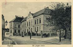 Az Állami Polgári Fiúiskola a Halász utcában
