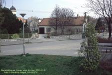 Az Árpád utcai mentőállomás 1995-ben