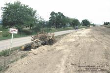 Az elkerülő út építése
