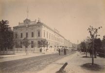 Az Erzsébet utca páros oldala az 1800-as évek végén