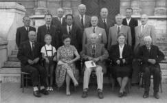 Az Evangélikus Teológia tanárainak csoportképe