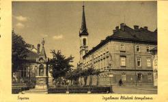 Az Irgalmas nővérek temploma és az óra