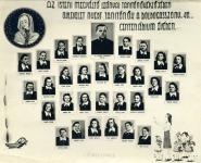 Az Isteni Megváltó Leányai Tanítóképzőjében oklevelet nyert tanítónők a Boldogasszony 48-as centenáriumi évében