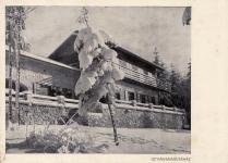 Az István-menedékház télen