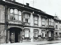 Az Újteleki utca 10-es számú ház az 1950-es években