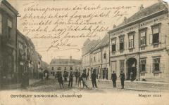 Magyar utcai részlet