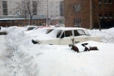 Behavazott parkoló a Deák téren