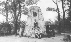 Egykorvolt emlékmű a Bécsi-dombon