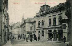 Divatterem a Szent György utcában
