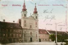 A Domonkos-templom az 1900-as évek elején