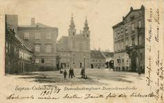 """Domonkosteplom-Dominikanerkirche"""