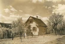 Tavaszi látkép a házról