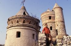 Taródi István a Taródi-várban