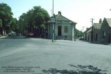 Egykorvolt épület a Pozsonyi úton