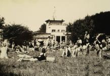 A Lövér uszoda 1966-ban