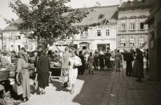 Életkép a régi piacnál 1939-ből