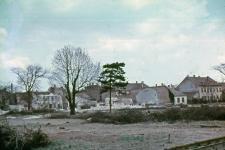 Építkezés a Kőfaragó térnél