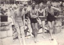 Fiatalok a Tómalmon 1936-ban