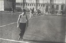 Focipálya az 1960-as években