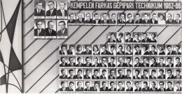Kempelen Farkas Gépipari Technikum 1962-66