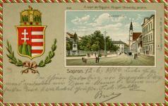 Képeslap a Magyar Társaság javára