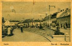 Képeslap a régi piacról
