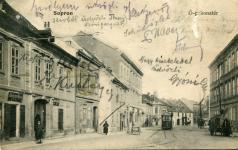 Képeslap az Ógabona térről