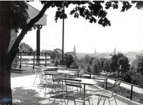 Kilátás a Hubertus teraszáról