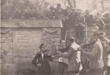Kirándulás a Deákkútnál 1933-ban