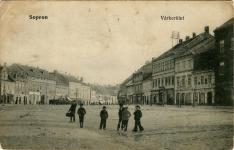 A Kisvárkerület az 1900-as évek elején