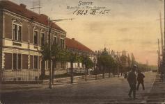 A Kossuth Lajos utca egy részlete