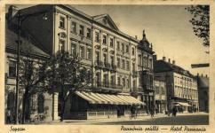 A Pannónia Szálló 1940 körül