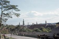Látkép a Bécsi út felől