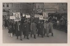 Május elsejei felvonulás 1954-ben