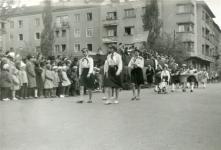 Felvonulók május 1-én