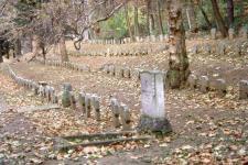Ősz a Hősi temetőben