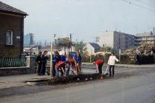Parkosítás a Csengery utcában