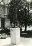 Petőfi Sándor szobra eredeti helyén