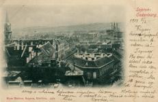Pillantás a Lőverek felé 1900 körül