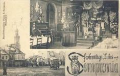 Soproni részlet és az egyesület találkozóhelye az egykori Kaszinóban