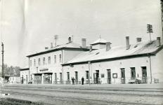 A Déli pályaudvar az 1960-as években