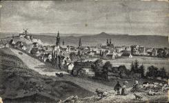 Látkép a 19. század közepéről