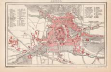 Sopron térképe 1895